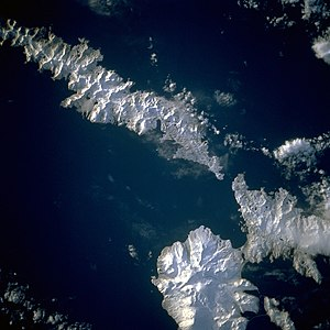 Aleutian Islands - Image: Aleutians space