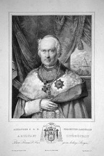 Alexander Rudnay slovak cardinal and roman catholic bishop