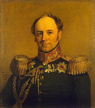 Alexander von Benckendorff - Alexander von Benckendorff by George Dawe