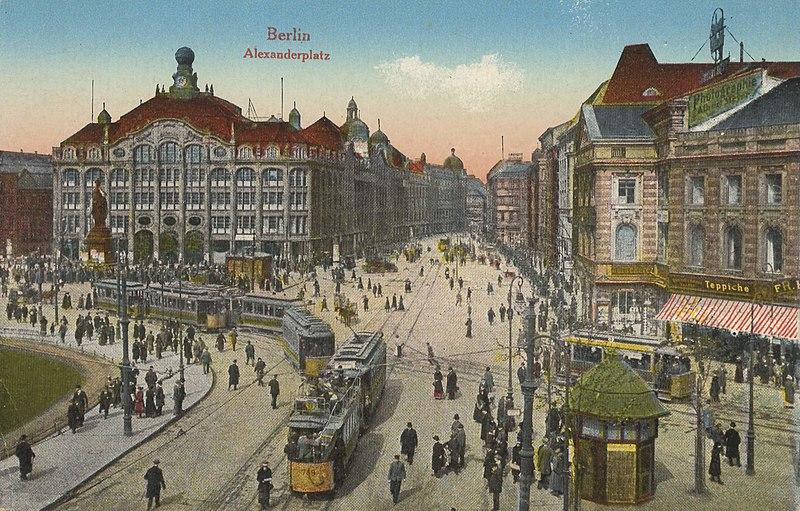 Alexanderplatz um 1900