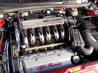 Alfa Romeo V6 engine - 24V 2.5L from an Alfa Romeo 156