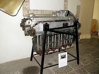 Alfa Romeo 115 - The Alfa 155ter displayed at Museo dell'aria e dello spazio of San Pelagio, Due Carrare, province of Padua, Italy.