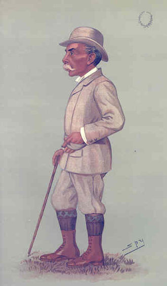 Alfred Austin - Austin caricatured by Spy for Vanity Fair, 1896