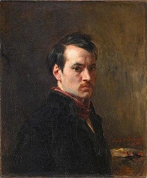 Alfred Dehodencq - Self portrait, 1848