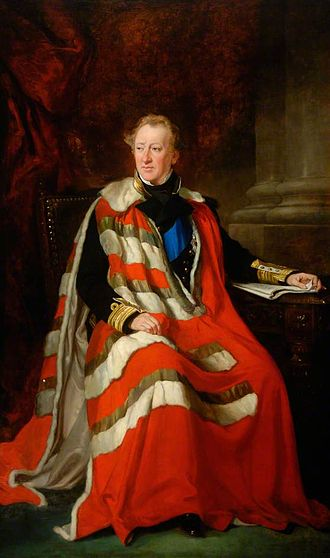 Algernon Percy, 4th Duke of Northumberland - Duke of Northumberland by Francis Grant