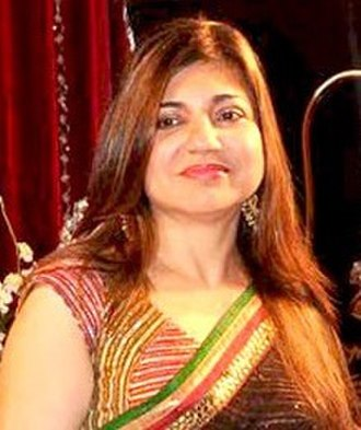 Filmfare Award for Best Female Playback Singer - Image: Alka Yagnik