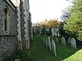All Saints', Lewes, churchyard (III) - geograph.org.uk - 2706307.jpg