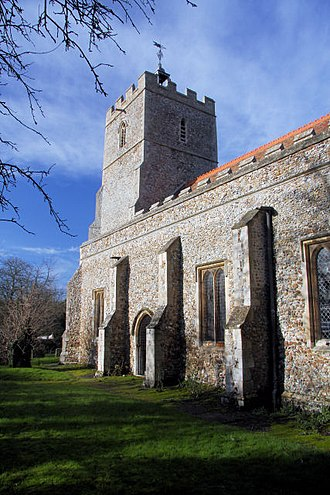 Great Thurlow - Image: All Saints Church, Great Thurlow geograph.org.uk 1067199