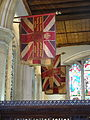 All Saints church, Kingston upon Thames, side chapel commemorating the East Surrey regiment 21.JPG