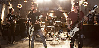 All Time Low - All Time Low performing in 2012