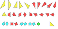 All Vertex Regular Planigons in Dual Uniform Tilings By Number of Sides.png