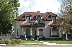 National Register of Historic Places listings in Summit County, Utah - Image: Allen House Coalville Utah
