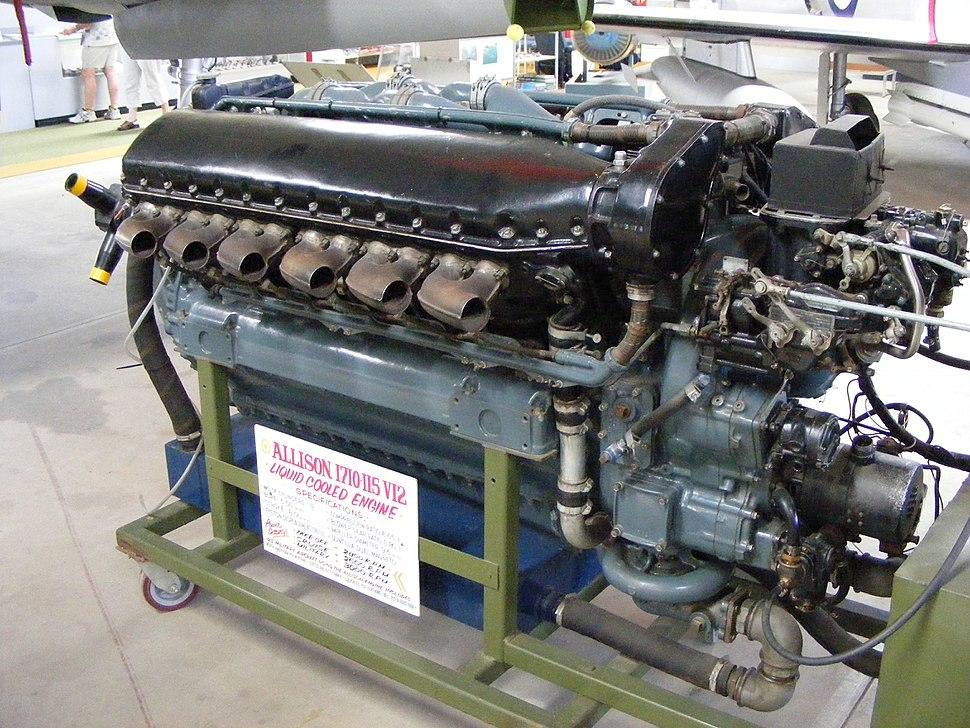 Allison 1710-115 V12 Aircraft engine