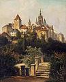 Alois Kirnig Blick auf die Prager Burg 1899.jpg
