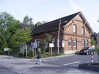 Wellingsbüttel Quarter of Hamburg in Germany