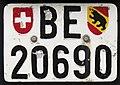 Altes Schweizer Kontrollschild BE.jpg