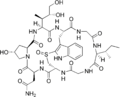 Amaninamide structure.png