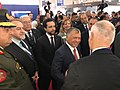 Amb Wooster and King Abdullah II at U.S. Pavilion.jpg