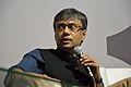Amit Chaudhuri - Kolkata 2014-01-31 8219.JPG
