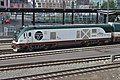 Amtrak Cascades 1401 - Siemens Charger engine at King Street Station, Seattle, WA - 03.jpg
