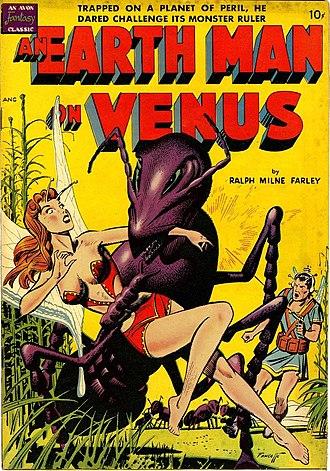 Venusians - Cover of 1950 Avon comic adaptation of The Radio Man