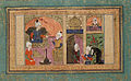 An Enthronement Scene, Page from a Manuscript of the Shahnama (Book of Kings) LACMA M.73.5.429.jpg