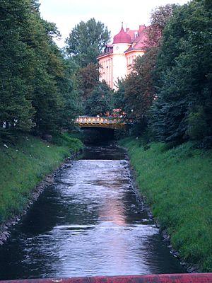 Kłodnica - Kłodnica in downtown Gliwice