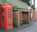 Ancient and Modern, bus shelter, Whiteparish - geograph.org.uk - 368364.jpg