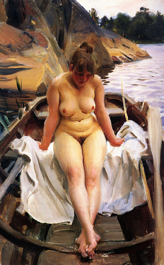 In Werner's Rowing Boat