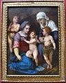 Andrea del sarto, madonna col bambino, san giovannino, s.elisabetta e un angelo.JPG