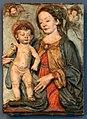 Andrea del verrocchio (da), madonna medici, 1470-80 ca., in terracotta.jpg