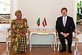 Andrejs Klementjevs tiekas ar Zambijas Republikas vēstnieci (5706583098).jpg