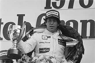 1977 Formula One season - Mario Andretti (pictured in 1978) placed third for John Player Team Lotus