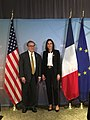Andrew Wheeler and Brune Poirson at 2018 G7 Environment Meeting (2).jpg
