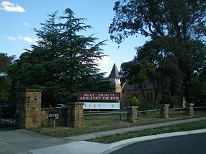 Doncaster, Victoria - Holy Trinity Anglican Church