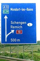 Autobahnausfahrten A8