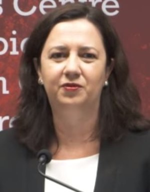 Queensland state election, 2017 - Image: Annastacia Palaszczuk May 2016