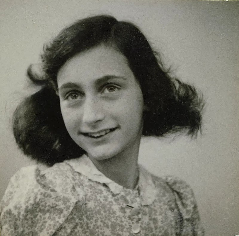 Frank in May 1942, two months before her family went into hiding