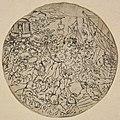 Anoniem, Medaillon met voorstelling van de schaking van de Romeinse vrouwen - Médaillon représentant l'enlèvement de femmes romaines, KBS-FRB (CVH 541-1).jpg