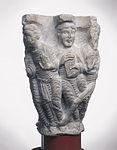 Anonyme - Chapiteau de colonnes jumelles , Les douze Apôtres - Musée des Augustins - ME 276 (3).jpg