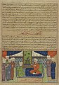 Anonymous - Muawiya with Councillors, from a manuscript of Hafiz-i Abru's Majma' al-tawarikh - 1983.94.4 - Yale University Art Gallery.jpg