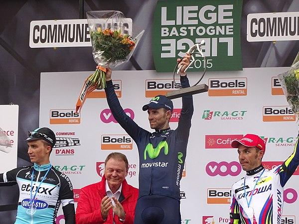 Ans - Liège-Bastogne-Liège, 26 avril 2015, arrivée (B21).JPG