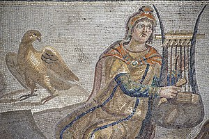 Antakya Archaeological Museum Orpheus mosaic 6551.jpg