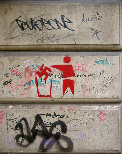 File:Antifascist Graffiti Sarajevo 2009.jpg