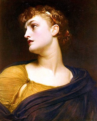 Antigone - Antigone by Frederic Leighton (1882)