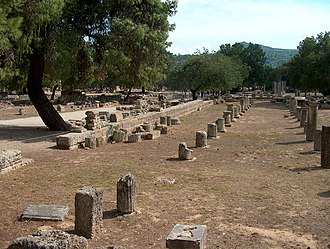 Olympiad - Stadium at ancient Olympia.