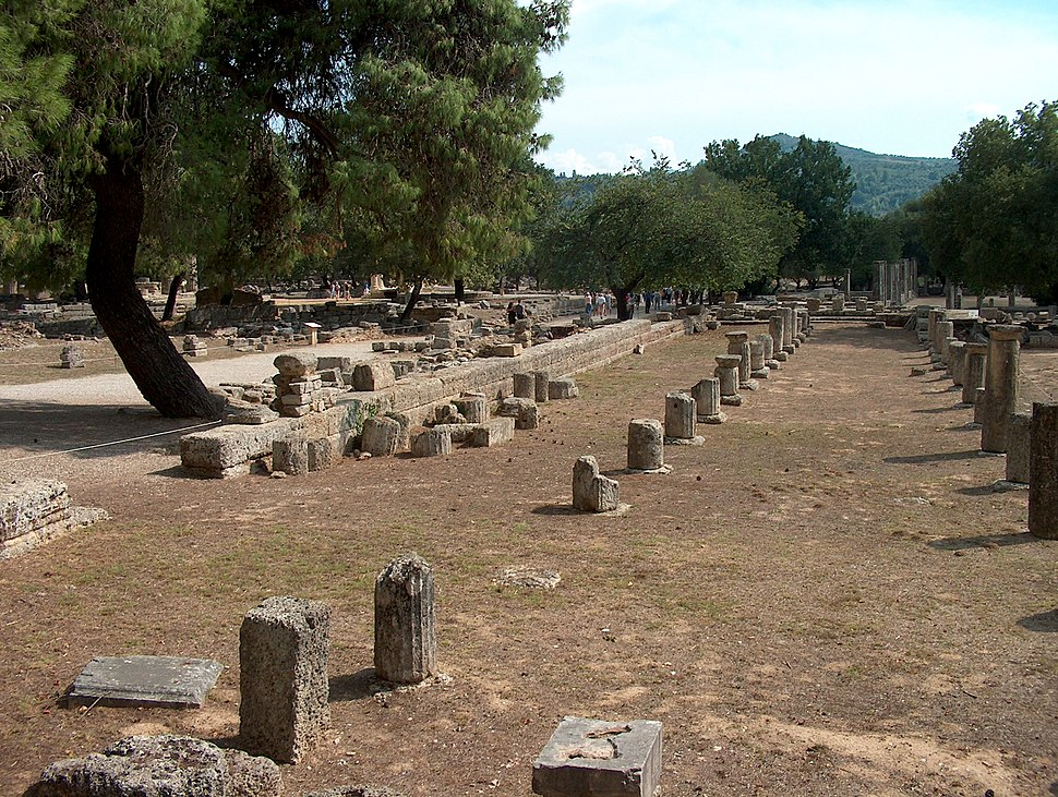 Antikes Olympia Stadion