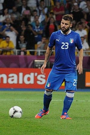 Antonio Nocerino - Nocerino in action for the Italian national football team in 2012