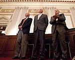 Apollo 11 crew at Congressional recognition ceremony in 2009.jpg