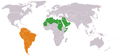 Arab League South America Locator.png